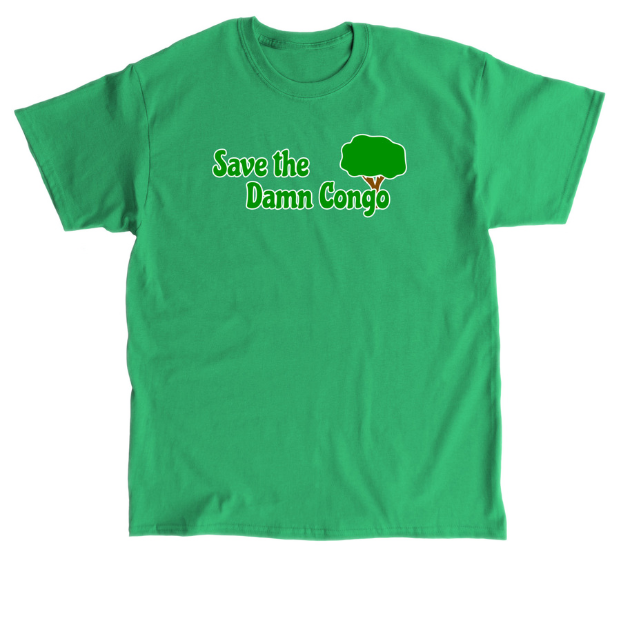 Save the Damn Congo Shirt - Irish Green